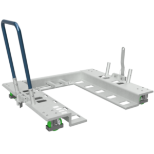 4 Wheel universal pallet trolley