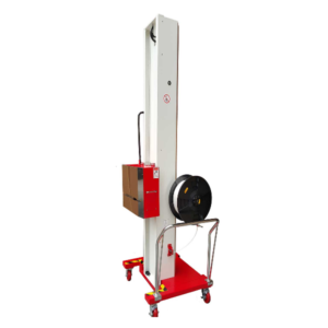 Semiautomatic vertical strapping machine for big products TP-502MH