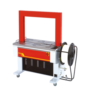 Automatic strapping machine with electronic strap tensioning TP-601D
