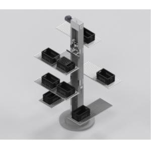Prorunner MK1 rotating vertical conveyor